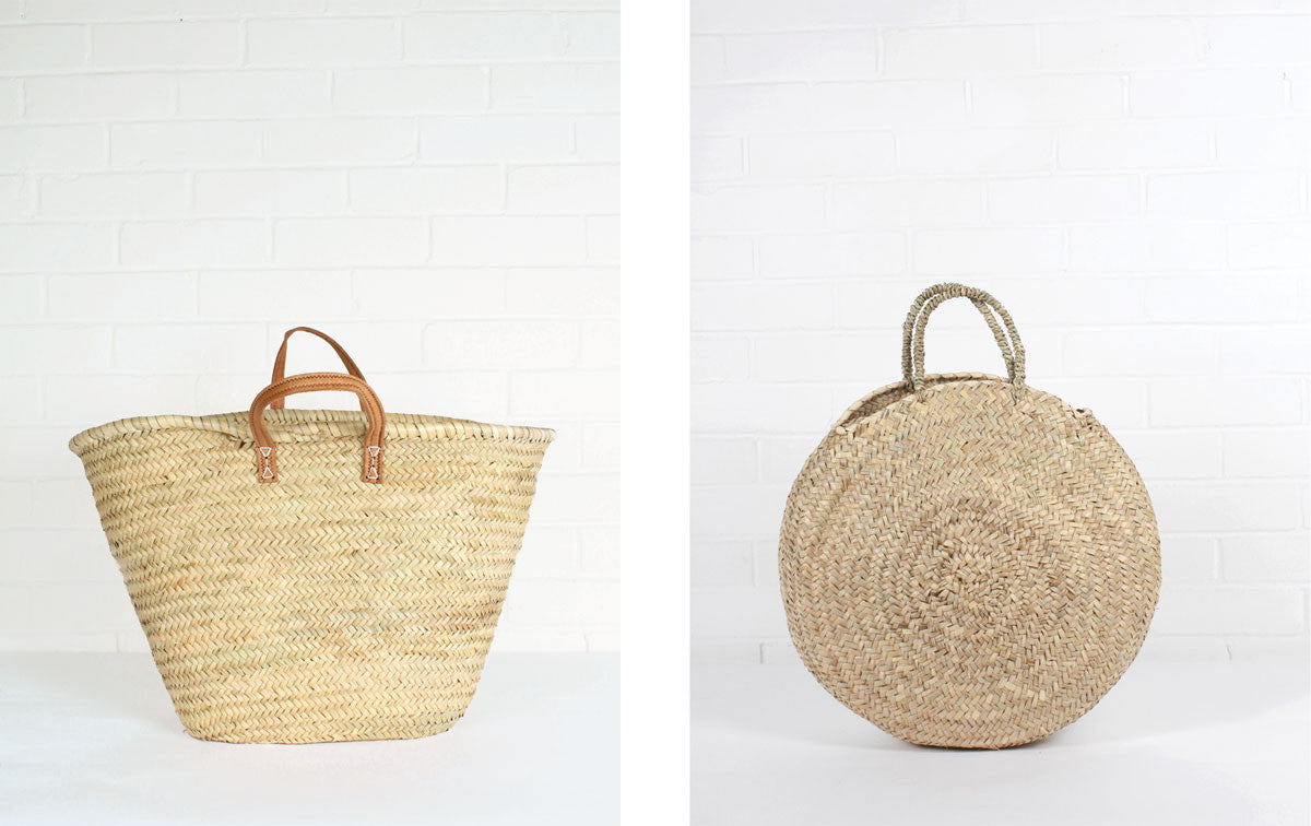 Parisienne and Florence Shopper Baskets