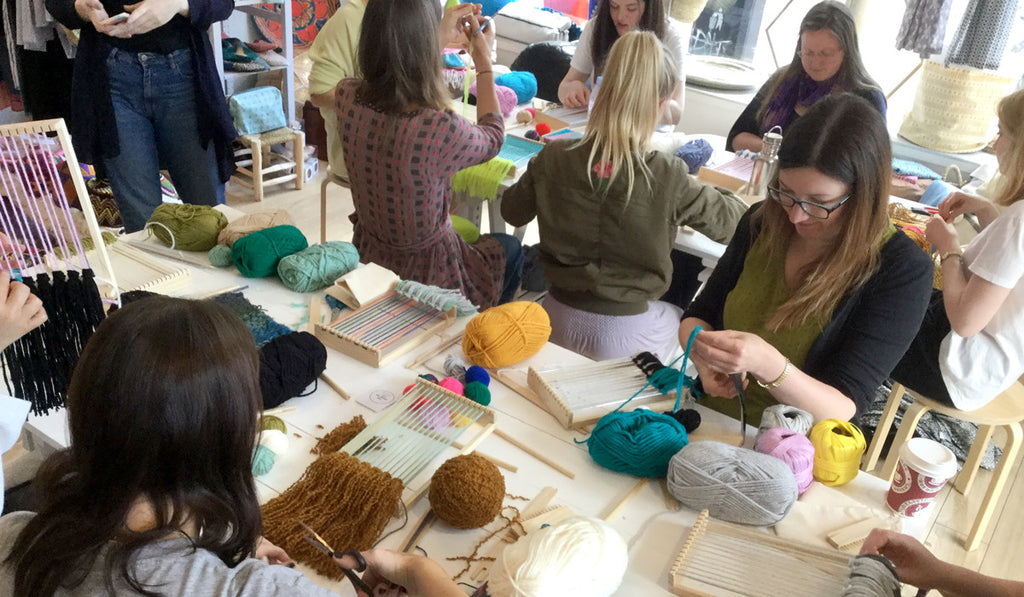 Squid Ink Co Weaving Workshop