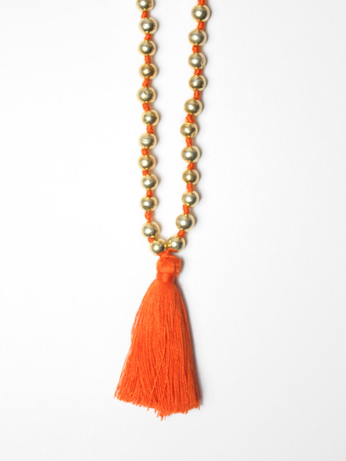 Aurora Gold Necklace, Orange