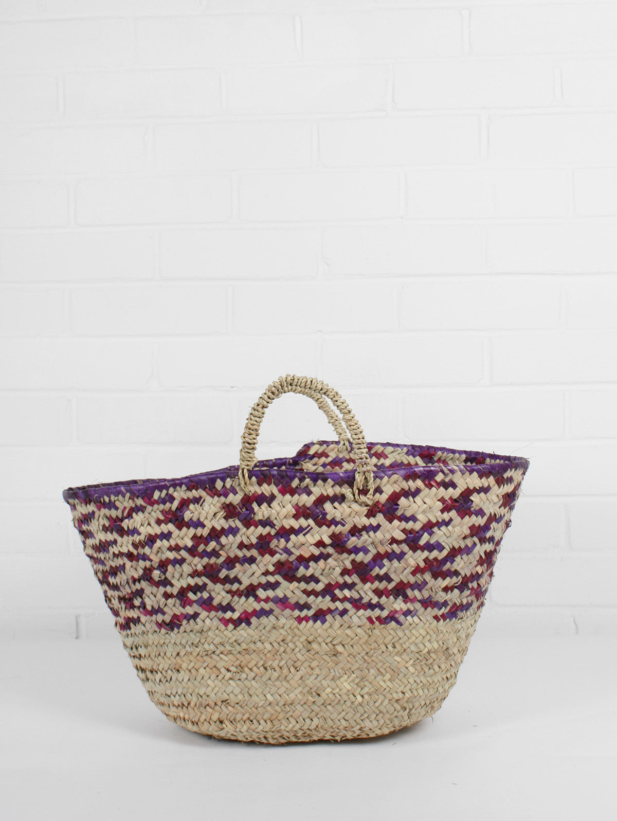Country Colour Weave Baskets