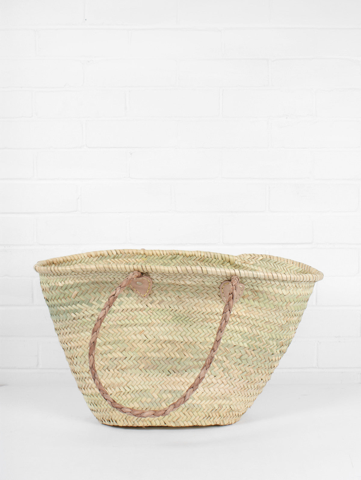 French Shopping Basket, Natural