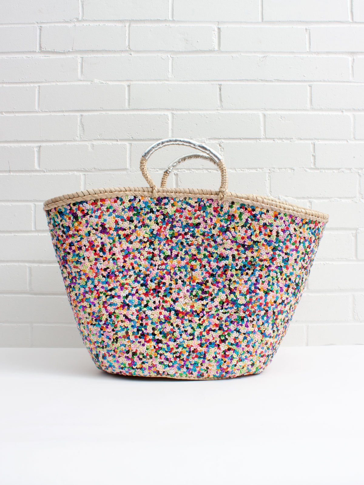 Sequin Basket, Multi