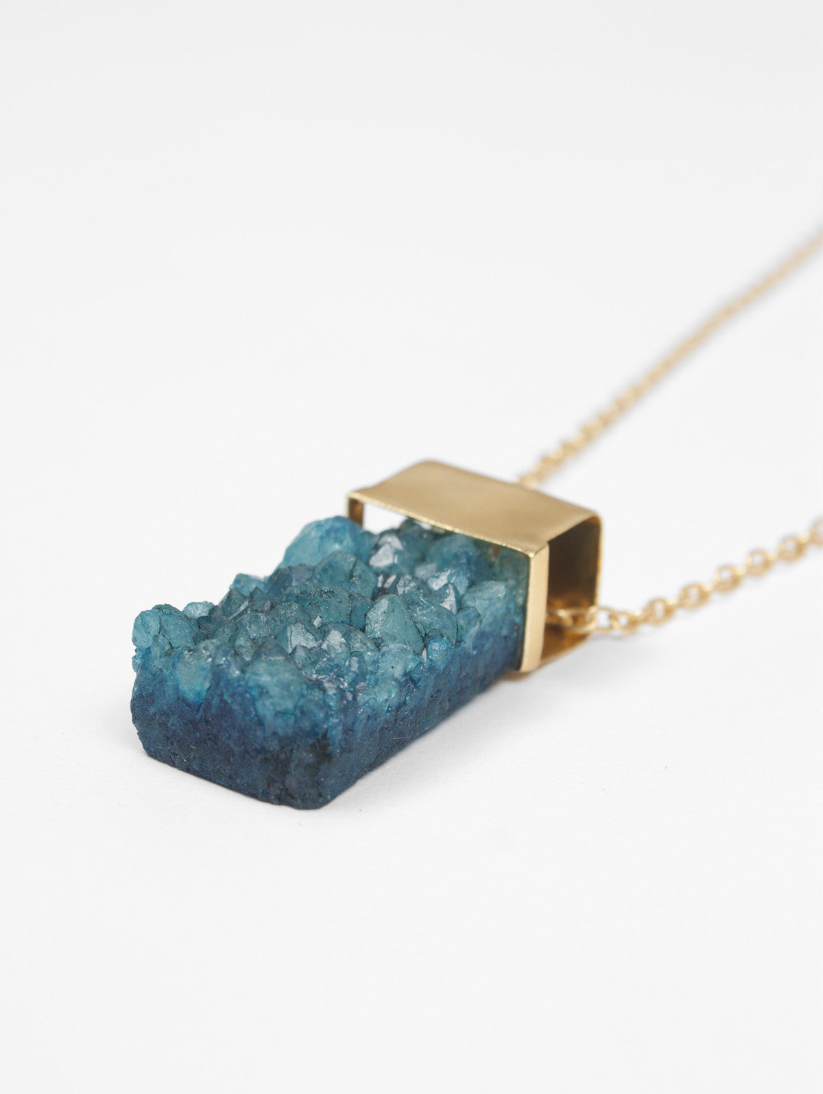 Big Druzy Necklaces