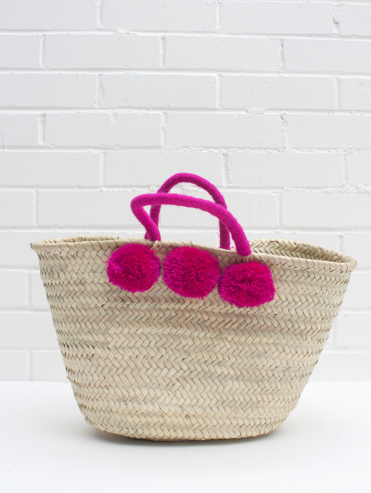 Colour Wrap Pom Pom Baskets
