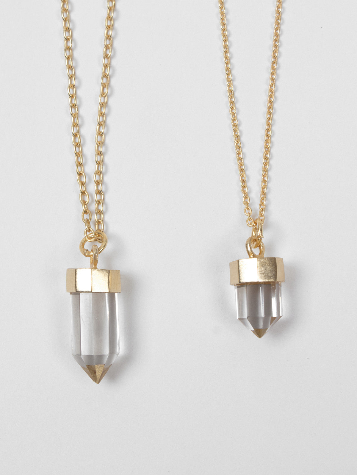Crystal Bullet Necklaces