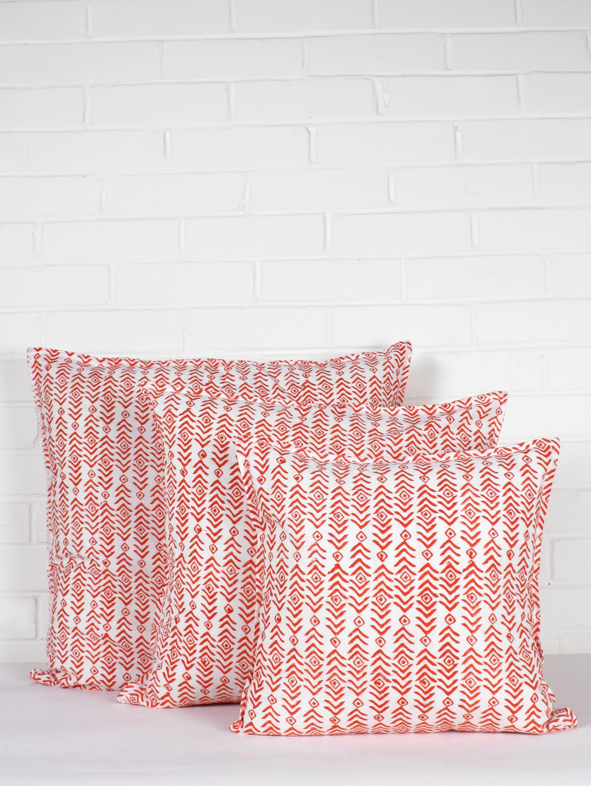 Aztec Cushions, Orange