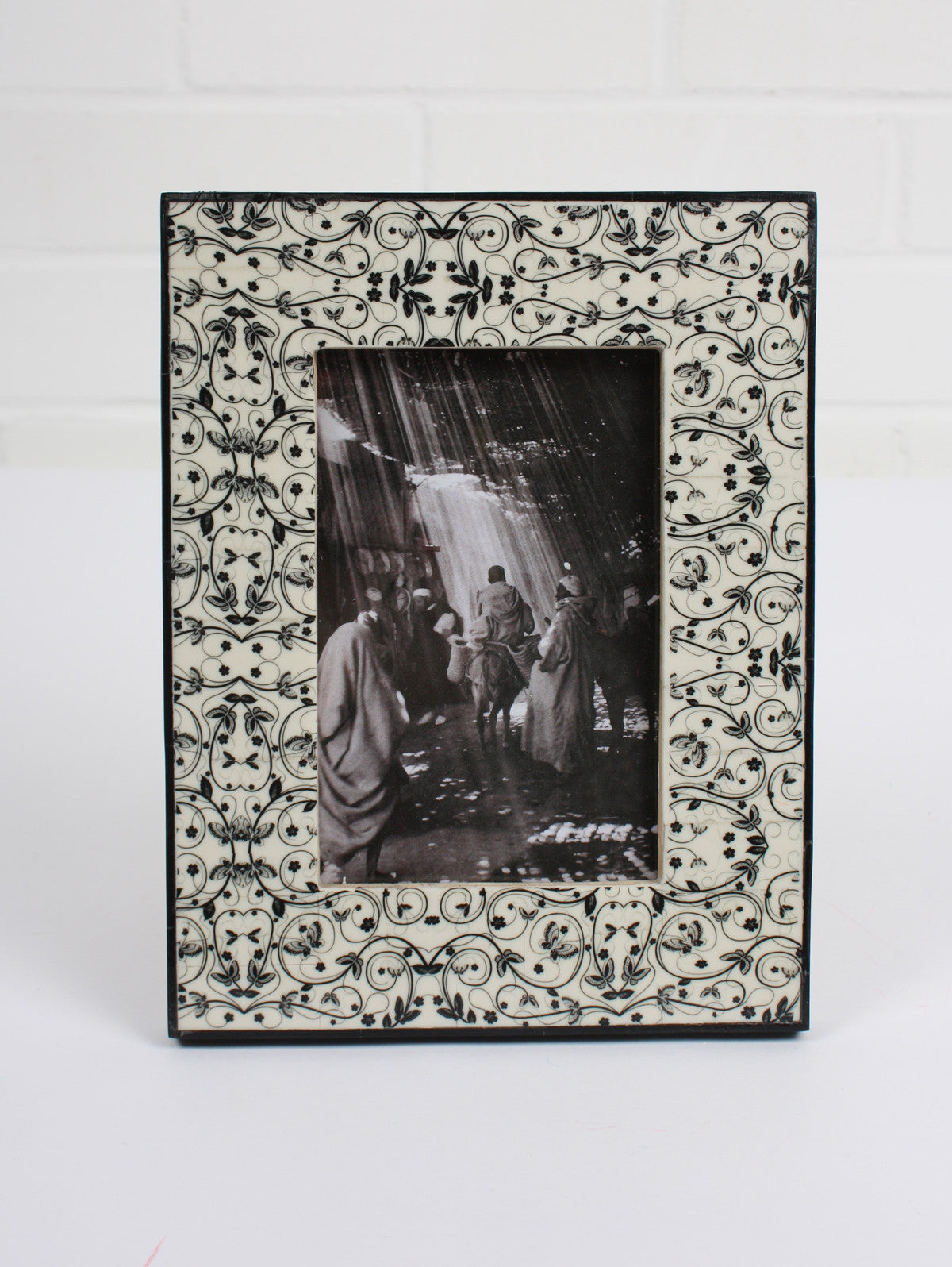 Tile Photo Frame, Black