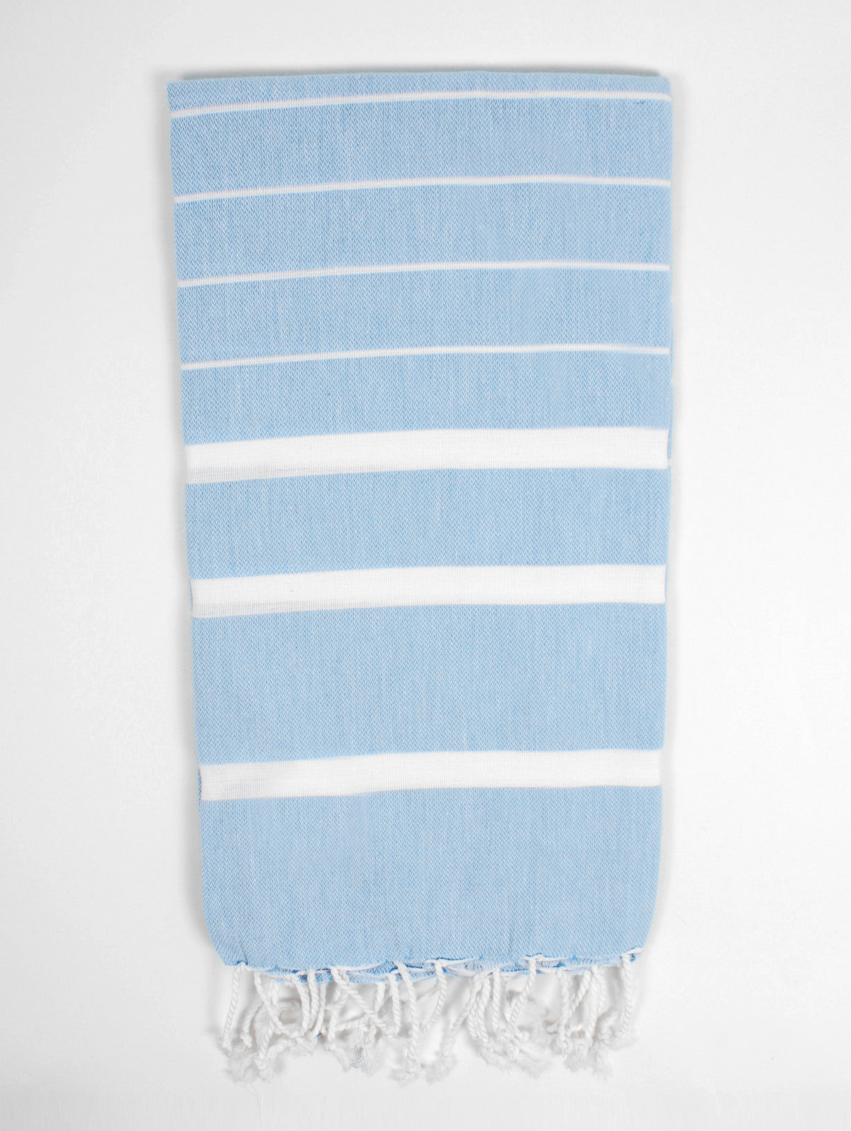 Ibiza Summer Hammam Towel, Ice Blue