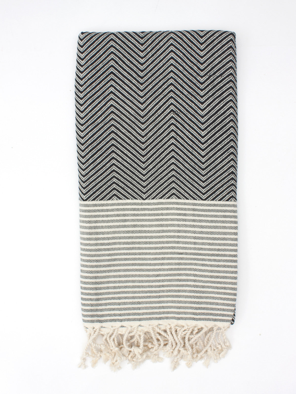 Malibu Hammam Towel, Black