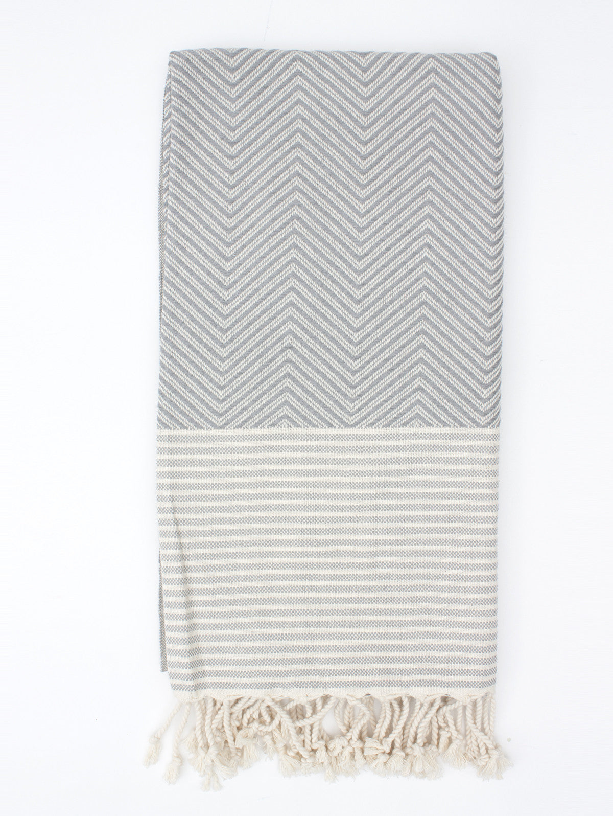 Malibu Hammam Towel, Grey