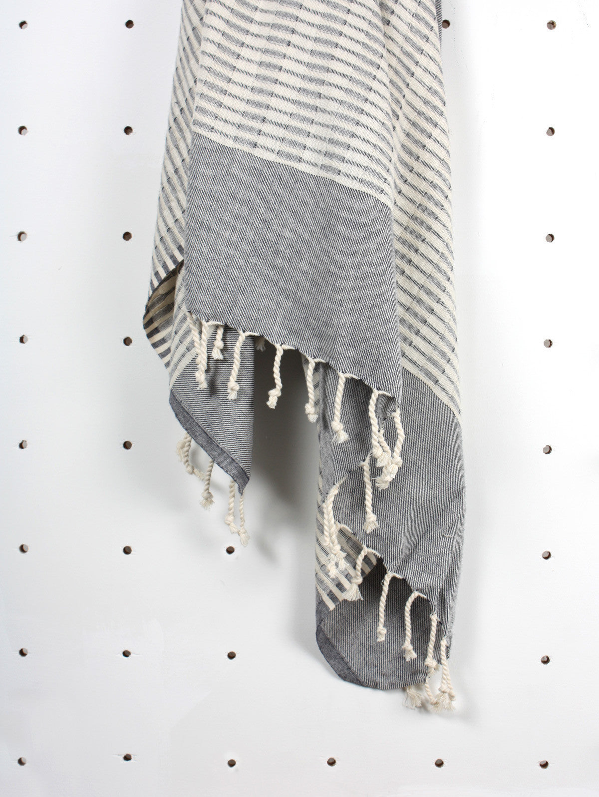 Miami Hammam Towel, Charcoal