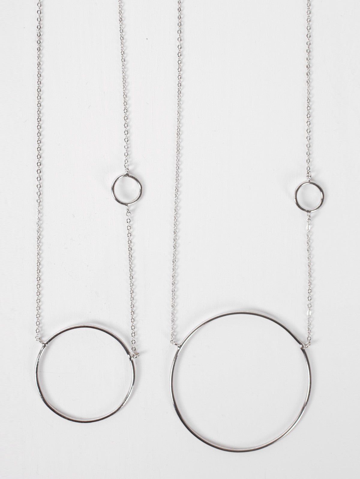 Silver Juno Necklaces