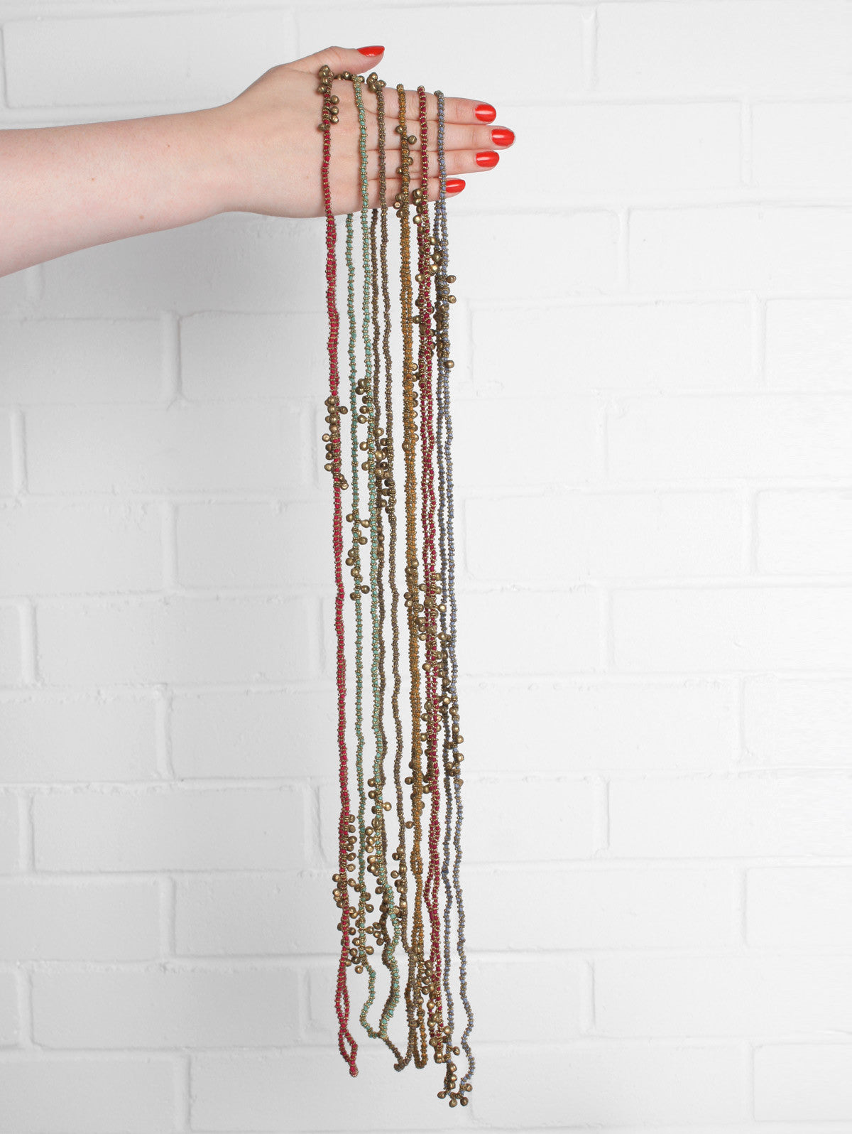Kriti String of Bells Necklaces