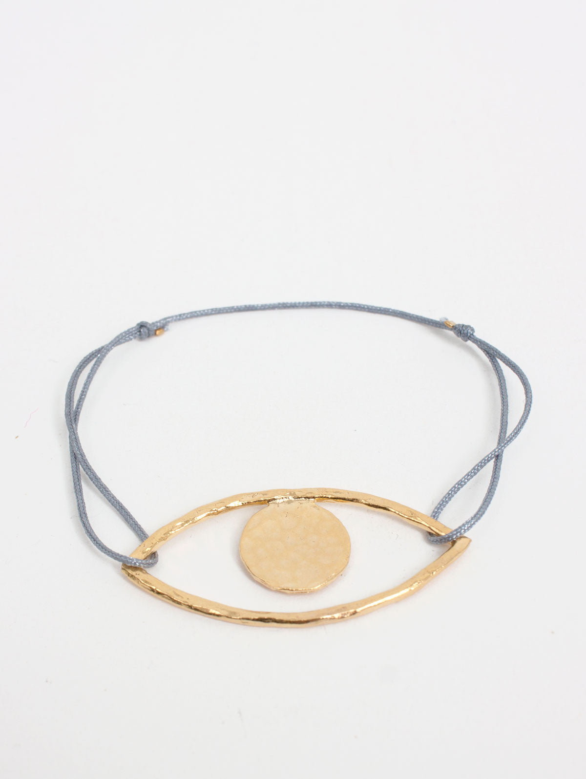 Gold Lara's Eye Bracelets