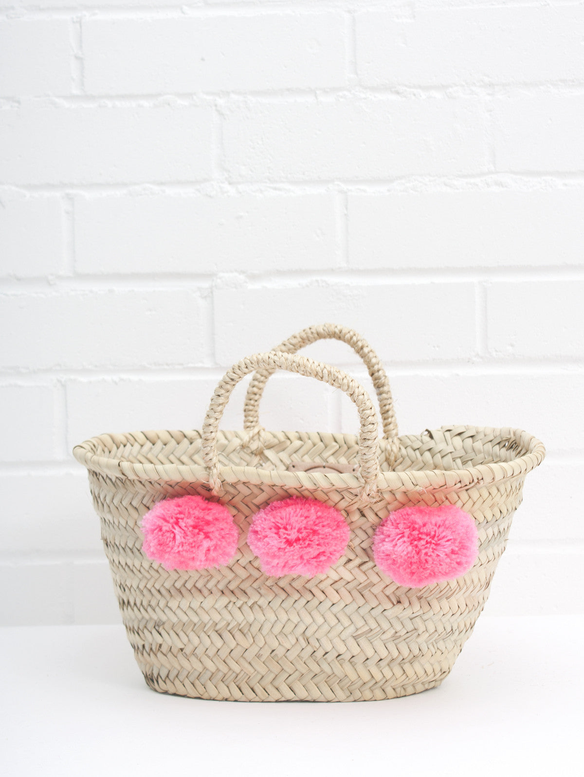 Mini Market Pom Pom Baskets