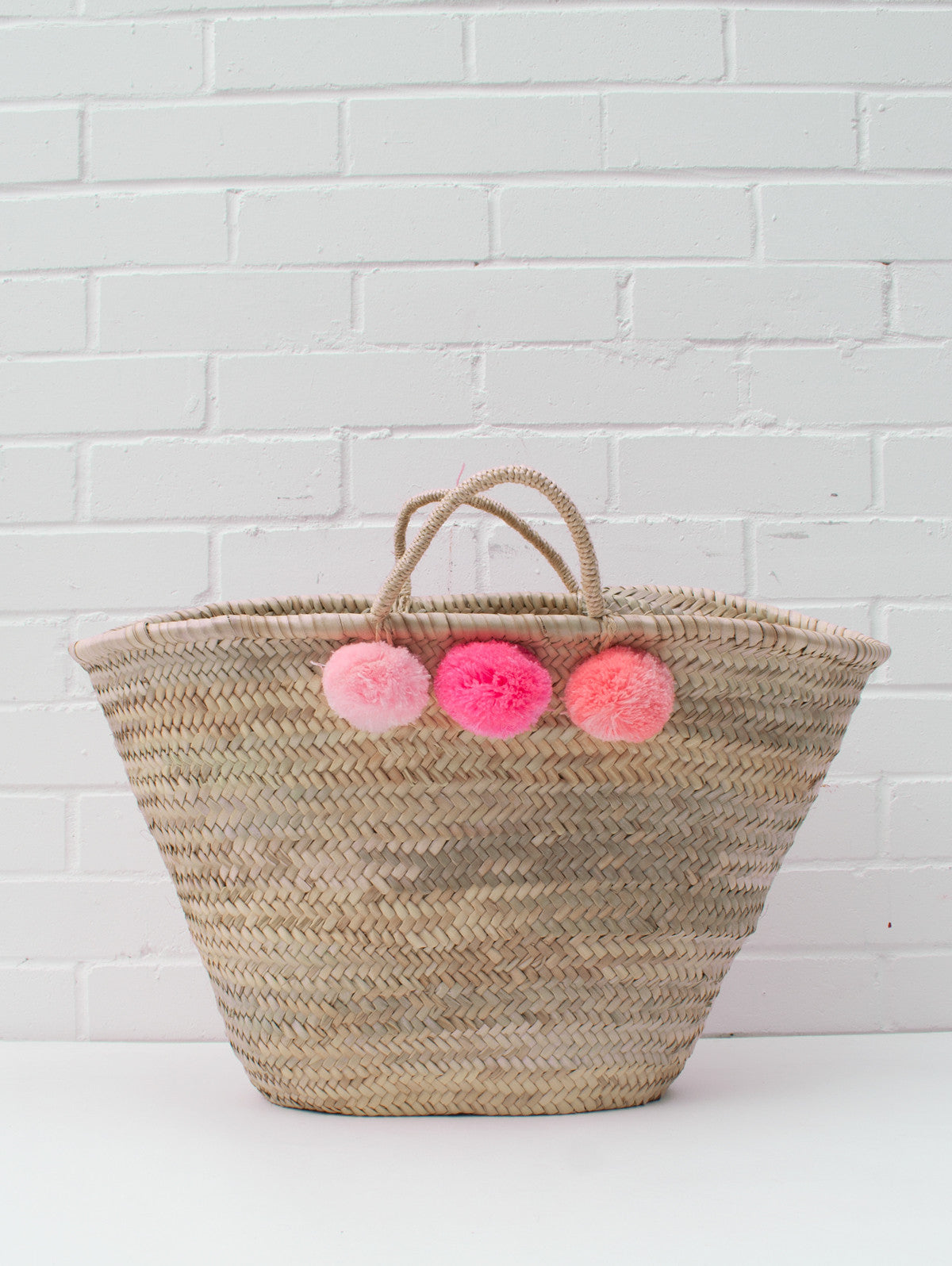 Market Pom Pom Baskets, Mixed