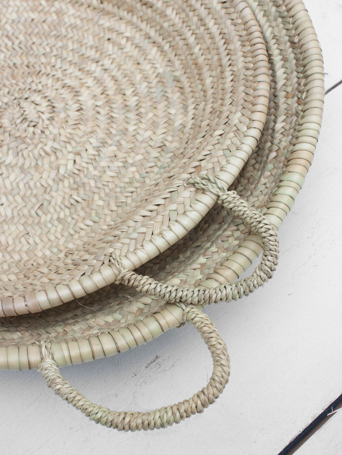 Moroccan Oversized Woven Plate