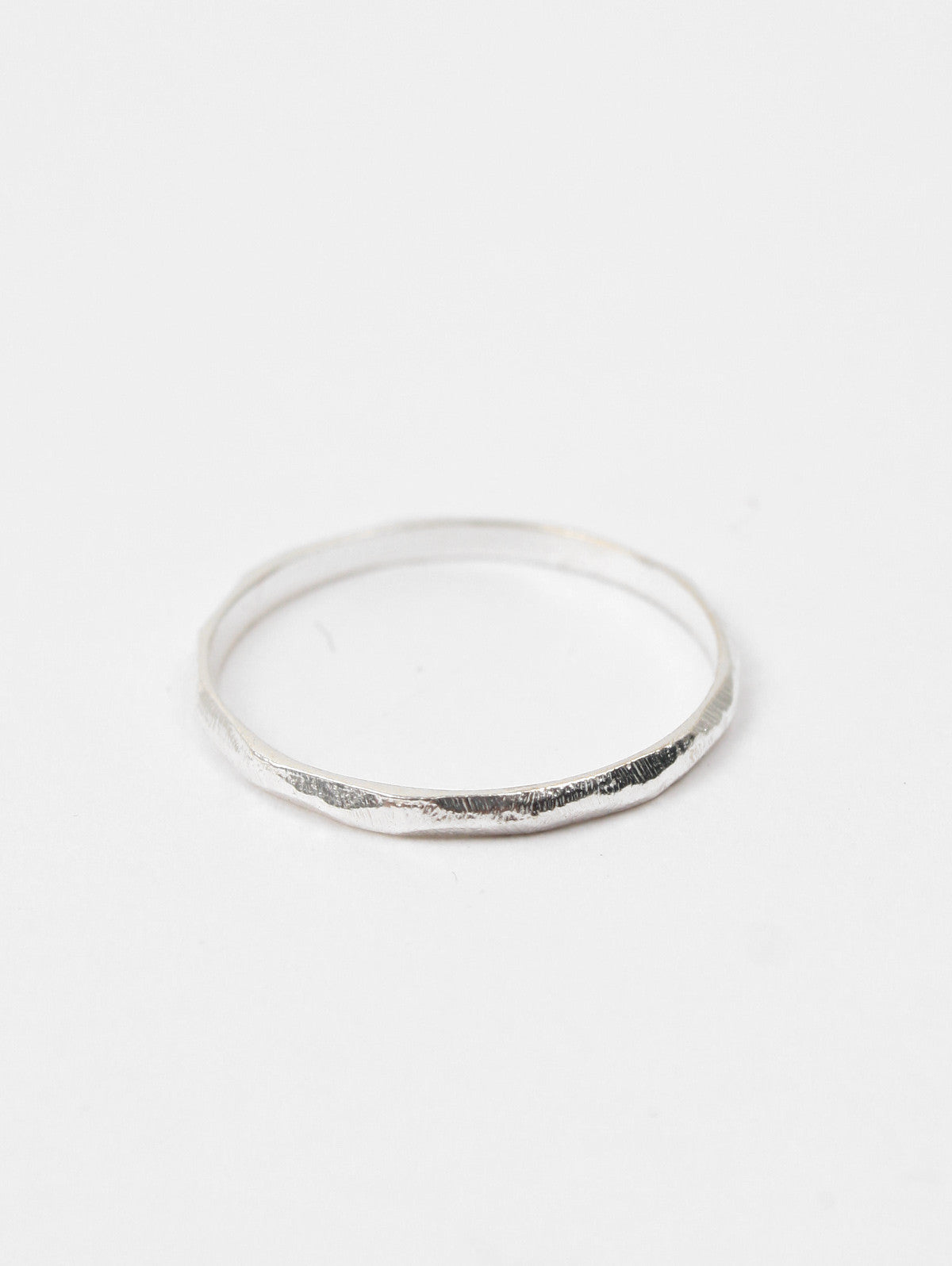 Band Stacking Rings, Silver