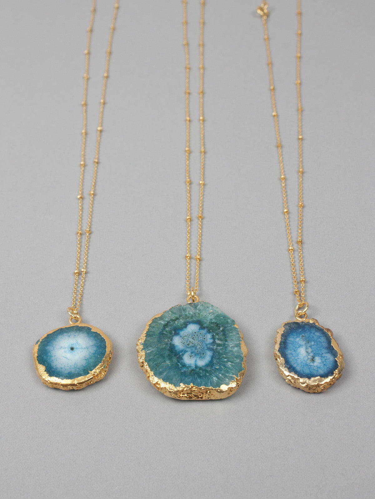 Solar Quartz Necklaces