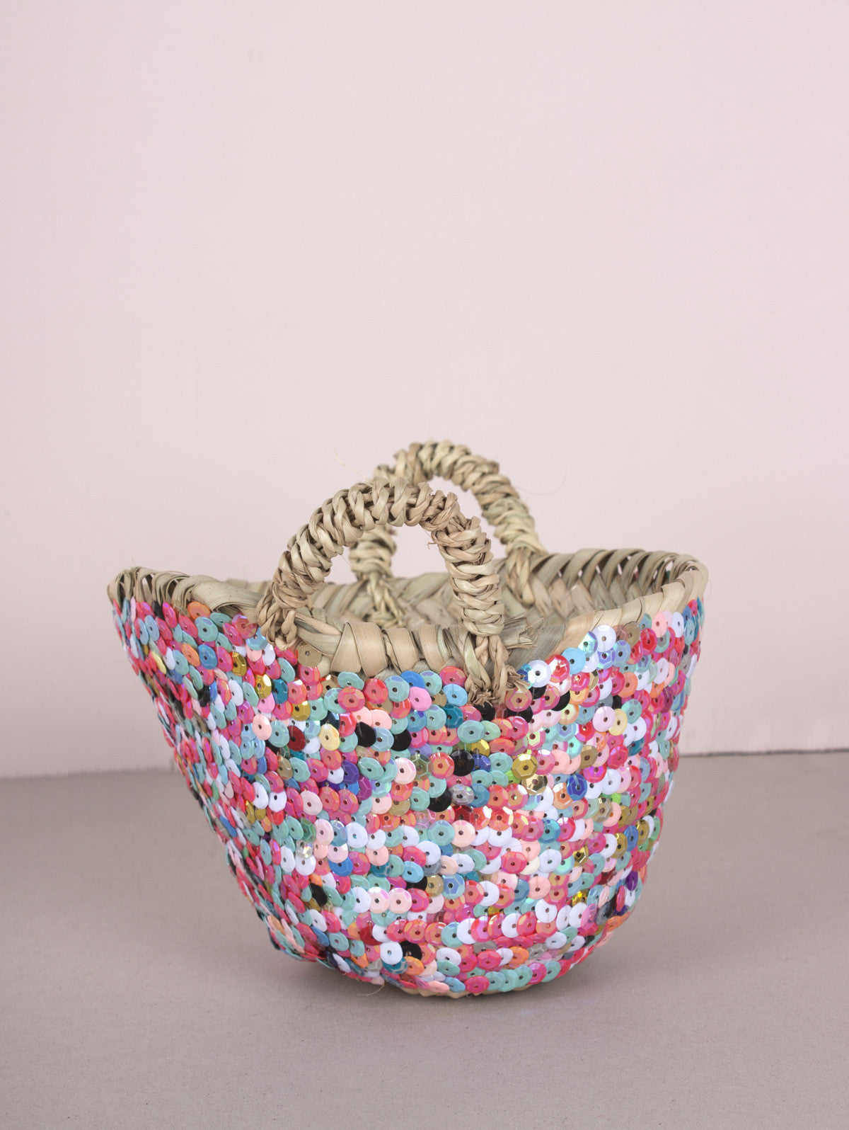 Tiny Sequin Baskets