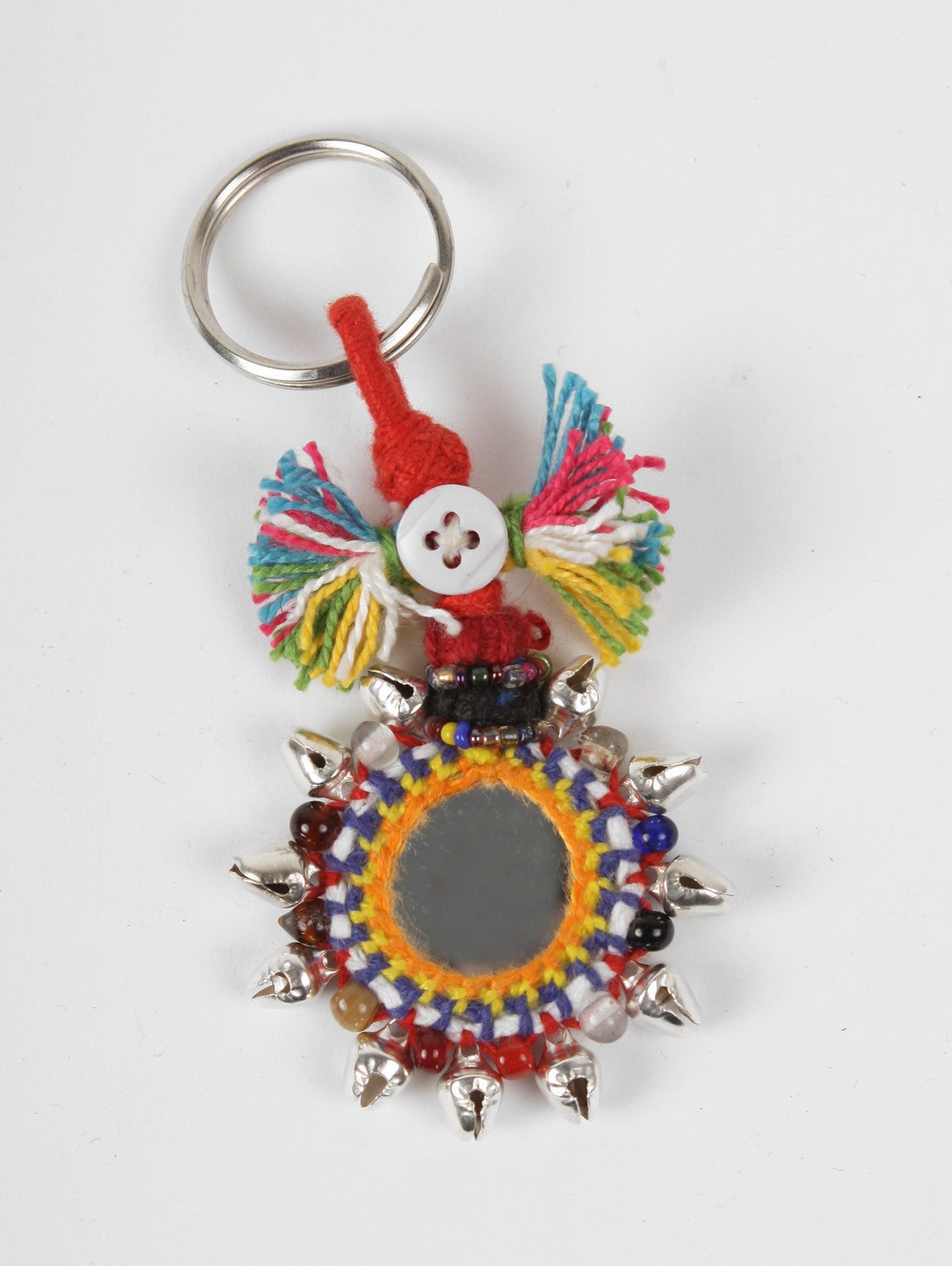 Boho Mirror Keyrings, Small