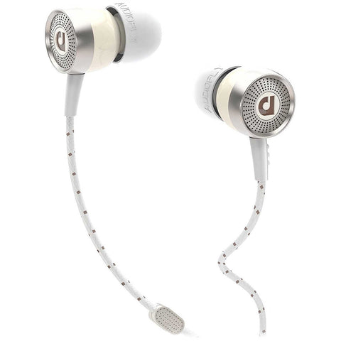 Audiofly AF45 In-ear headphones with Clear-Talk Mic 入耳式耳機連咪 - White - Audiofly - In-Ear Headphones - ListenExpert Hong Kong Buy Headphones Bluetooth Speakers 購買耳機藍芽喇叭專門店