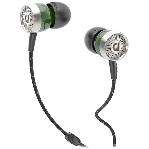 Audiofly AF45 In-ear headphones with Clear-Talk Mic 入耳式耳機連咪 - Green - Audiofly - In-Ear Headphones - ListenExpert Hong Kong Buy Headphones Bluetooth Speakers 購買耳機藍芽喇叭專門店