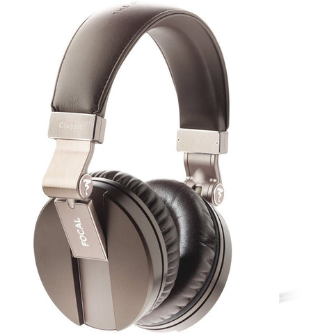 Focal Spirit Classic Over-Ear Closed Back Circumaural Hi-Fi Headphones Brown - Focal - Over-Ear Headphones - ListenExpert Hong Kong Buy Headphones Bluetooth Speakers 購買耳機藍芽喇叭專門店