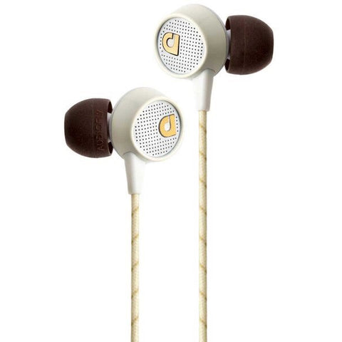 Audiofly AF56 In-Ear Headphones w/Clear-talk Mic 入耳式耳機連咪 - Vintage White - Audiofly - In-Ear Headphones - ListenExpert Hong Kong Buy Headphones Bluetooth Speakers 購買耳機藍芽喇叭專門店