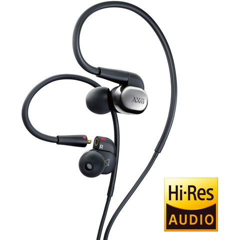 AKG N40 High-Resolution In-Ear Headphones 混合式單元入耳式耳機 - Silver