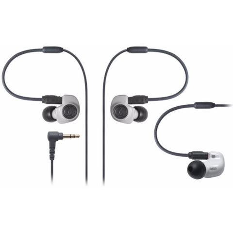 Audio-Technica ATH-IM50 In-ear Headphones 入耳式耳機 White - Audio-Technica - In-Ear Headphones - ListenExpert Hong Kong Buy Headphones Bluetooth Speakers 購買耳機藍芽喇叭專門店