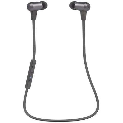 NuForce BE6i Wireless Bluetooth Water Resistant In-ear Headphones 無線藍芽防水入耳式耳機 - Grey - NuForce - In-Ear Headphones - ListenExpert Hong Kong Buy Headphones Bluetooth Speakers 購買耳機藍芽喇叭專門店