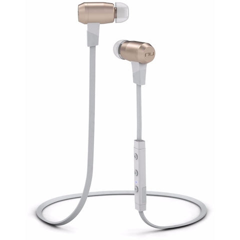 NuForce BE6i Wireless Bluetooth Water Resistant In-ear Headphones 無線藍芽防水入耳式耳機 - White - NuForce - In-Ear Headphones - ListenExpert Hong Kong Buy Headphones Bluetooth Speakers 購買耳機藍芽喇叭專門店