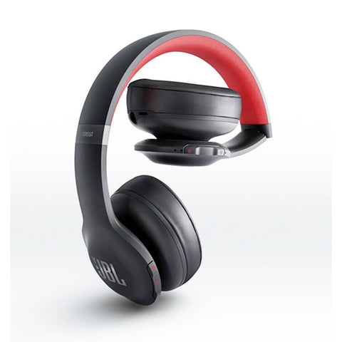 JBL Everest Elite 300 Active Noise Cancelling Wireless On-Ear Headphones 降噪藍芽無線貼耳式耳機 - Red - JBL - On-Ear Headphones - ListenExpert Hong Kong Buy Headphones Bluetooth Speakers 購買耳機藍芽喇叭專門店