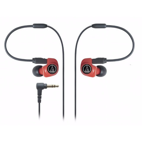 Audio-Technica ATH-IM70 In-ear Headphones 入耳式耳機 Red - Audio-Technica - In-Ear Headphones - ListenExpert Hong Kong Buy Headphones Bluetooth Speakers 購買耳機藍芽喇叭專門店