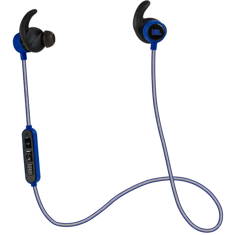 JBL Reflect Mini BT Wireless Sport In-Ear Headphones 藍芽無線運動型入耳式耳機 - Blue - JBL - In-Ear Headphones - ListenExpert Hong Kong Buy Headphones Bluetooth Speakers 購買耳機藍芽喇叭專門店