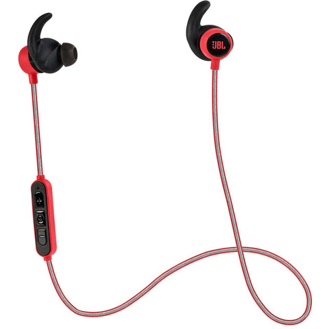JBL Reflect Mini BT Wireless Sport In-Ear Headphones 藍芽無線運動型入耳式耳機 - Red - JBL - In-Ear Headphones - ListenExpert Hong Kong Buy Headphones Bluetooth Speakers 購買耳機藍芽喇叭專門店