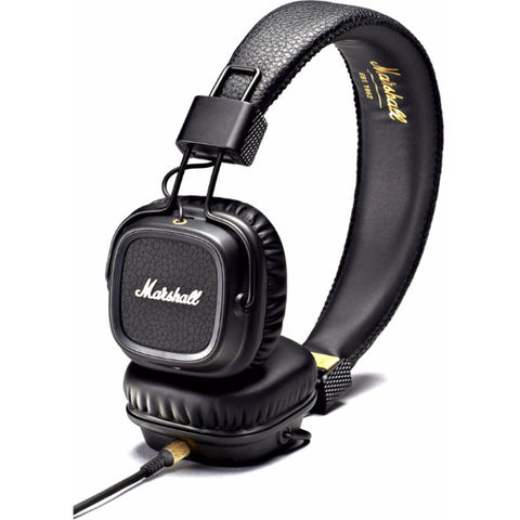 Marshall Major II On-Ear Headphones 頭戴式耳機 - Black - Marshall - On-Ear Headphones - ListenExpert Hong Kong Buy Headphones Bluetooth Speakers 購買耳機藍芽喇叭專門店