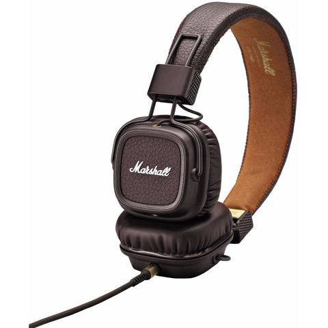 Marshall Major II On-Ear Headphones 頭戴式耳機 - Brown - Marshall - On-Ear Headphones - ListenExpert Hong Kong Buy Headphones Bluetooth Speakers 購買耳機藍芽喇叭專門店