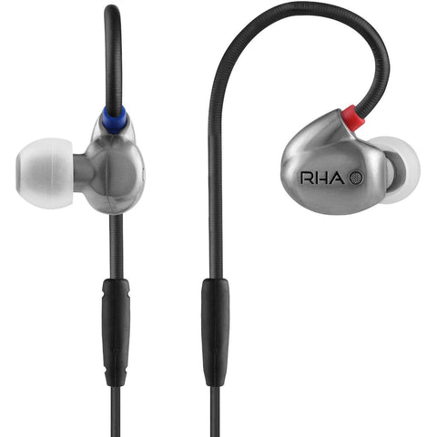 RHA T20 High Fidelity, Dual Coil In-Ear Headphone - RHA - In-Ear Headphones - ListenExpert Hong Kong Buy Headphones Bluetooth Speakers 購買耳機藍芽喇叭專門店
