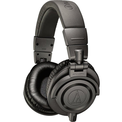 Audio-Technica ATH-M50xMG Limited Edition Monitor Headphones 頭戴式耳機 - Matte Gray - Audio-Technica - Over-Ear Headphones - ListenExpert Hong Kong Buy Headphones Bluetooth Speakers 購買耳機藍芽喇叭專門店
