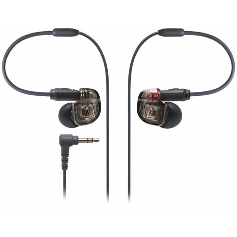 Audio-Technica ATH-IM01 Single Balanced Armature In-ear Monitor 動鐵單元入耳式耳機 - Black - Audio-Technica - In-Ear Headphones - ListenExpert Hong Kong Buy Headphones Bluetooth Speakers 購買耳機藍芽喇叭專門店