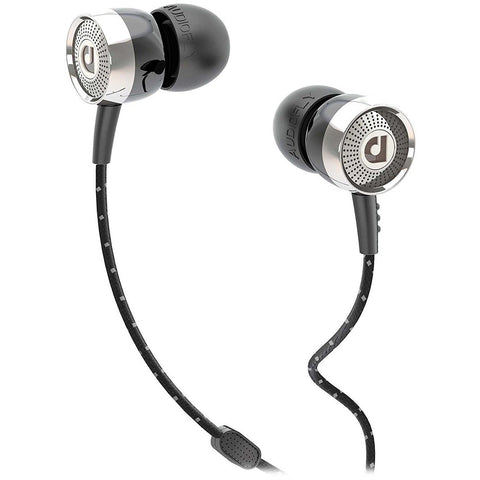 Audiofly AF45 In-ear headphones with Clear-Talk Mic 入耳式耳機連咪 - Black - Audiofly - In-Ear Headphones - ListenExpert Hong Kong Buy Headphones Bluetooth Speakers 購買耳機藍芽喇叭專門店
