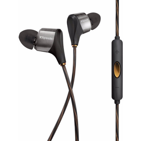 Klipsch Reference XR8i Hybrid In-Ear Headphones 混合單元平衡電樞入耳式耳機 - Black - Klipsch - In-Ear Headphones - ListenExpert Hong Kong Buy Headphones Bluetooth Speakers 購買耳機藍芽喇叭專門店