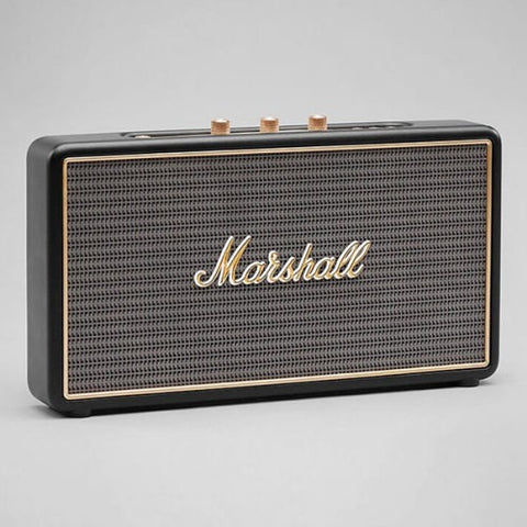 Marshall Stockwell Portable Bluetooth Speaker Black - Marshall - Bluetooth Speaker - ListenExpert Hong Kong Buy Headphones Bluetooth Speakers 購買耳機藍芽喇叭專門店