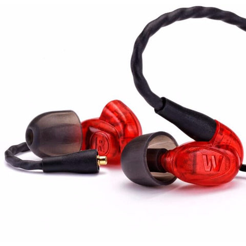 Westone UM Pro 10 Universal In-Ear Monitors 單平衡電樞入耳式監聽耳機 - Red - Westone - In-Ear Headphones - ListenExpert Hong Kong Buy Headphones Bluetooth Speakers 購買耳機藍芽喇叭專門店