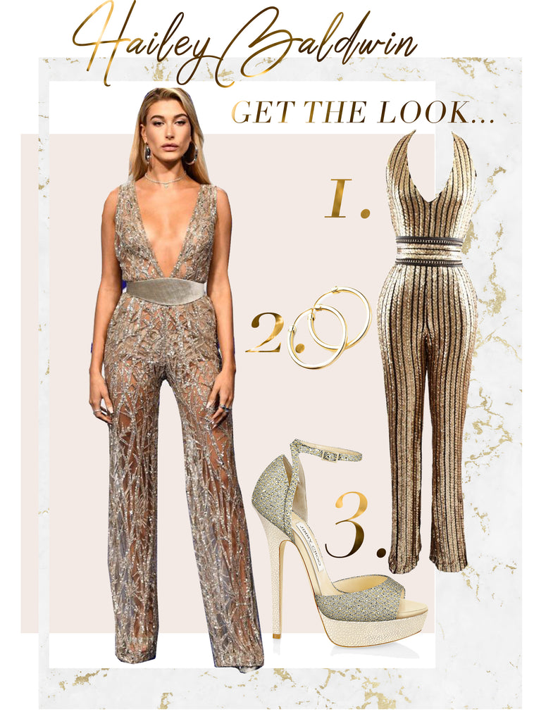 20a26743d0 Hailey Baldwin VMA s 2017 Get The Look