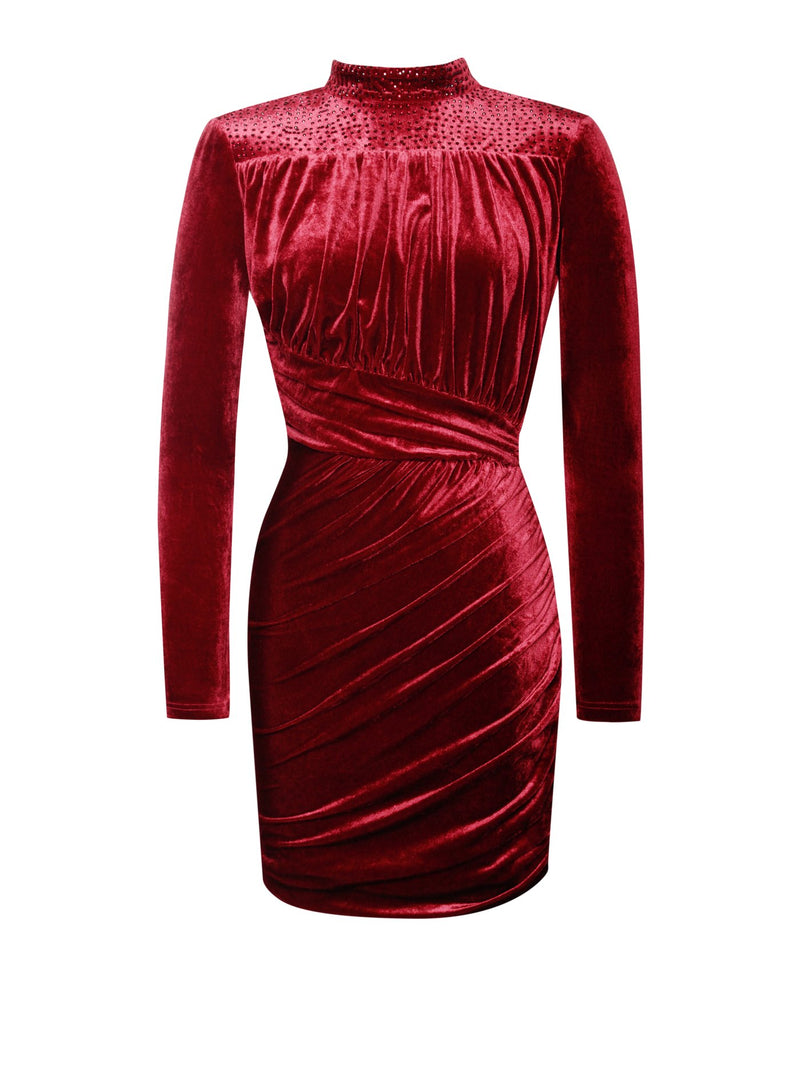 Party Dresses Best Christmas Party Dresses 2020 Christmas Party Dresses Embellished Party Dresses Christmas party dress Christmas dinner dress Wedding Guests Party Dress, Wedding Dress Cocktail Dress. Cocktail Maxi Dress Zara Party Dress Celebrity Festive Season Dress Celebrity Party Dresses Christmas dress Celebrity clothes, Open Back Dress, Turtleneck Velvet Dress
