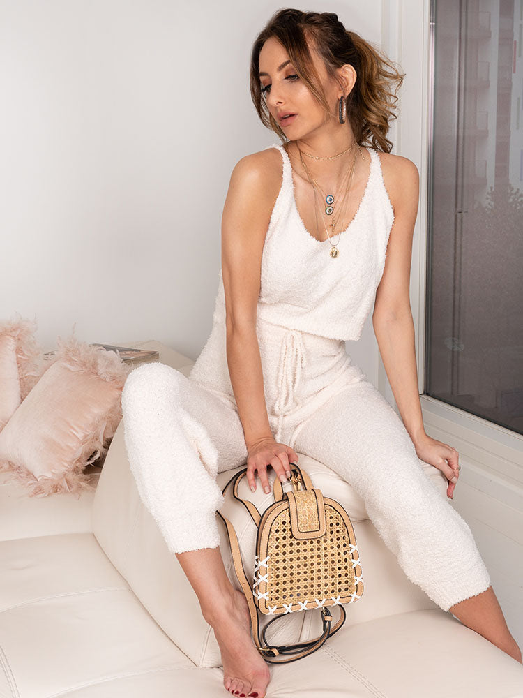 Rattan Backpack, Boohoo Style, Natural Straw Bags, Organic Fashion Bags
