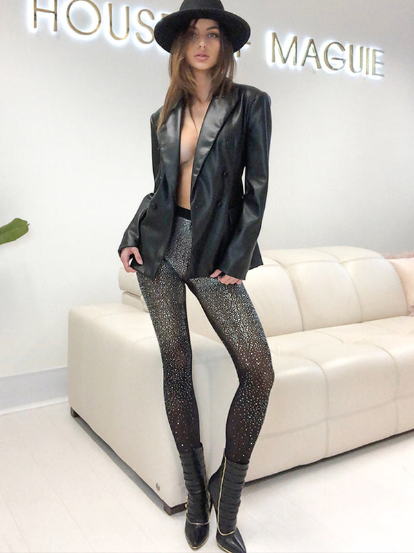 crystal leggings, crystal leggings uk, crystal encrusted leggings, zara leggings, leggings uk, leggings mango, leggings plt, leggings asos, celebrity party looks, house of cb, crystal leggings, christmas day outfit, festival outfit ideas, festival outfits uk